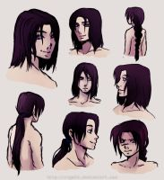 Kahan's hairstyles by rayn44