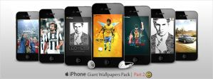 Giant Pack of iPhone Walls - Part 2 by WalidGFX