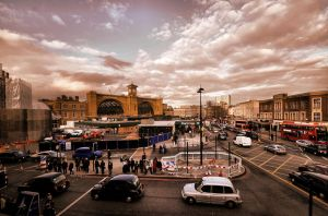 Kings Cross London by daliscar