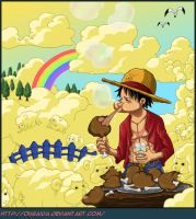 One piece Cover Chapitre 599 by Oubaida