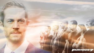 Fast and the Furious 7 : Paul Walker Tribute by superjabba425