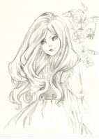 Girl scetch by GerVOlg