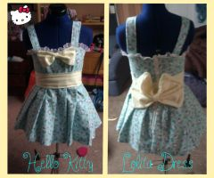 Hello Kitty Lolita Dress by DramaKana26