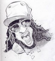 caricature of lil jon by thesmokeking
