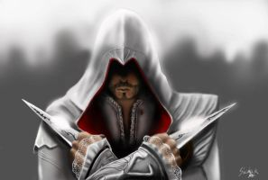 My first digital draw. Assasin's creed. by Neimathla