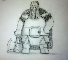 The Dwarf Azaghal. Lord of Oceania by leosauthier