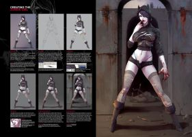 Zombiegirl Tutorial by Dmitrys