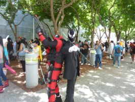 Fanime 2013 Major Wade Wilson and Grendel by Speedway66
