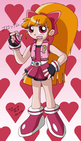 PowerPuff Girls Z - Blossom by Rapid-the-Hedgehog