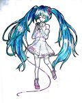 Kawaii Ribbon Miku DONE by KawaiiManaphy
