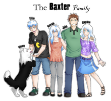 The Baxter Family by Abby-desu