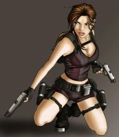 Lara Croft Art 1 by typeATS