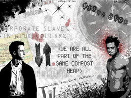 Fight Club Wallpaper - 1 by m3ntalpiracy