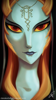 Midna Portrait by ClaraKerber