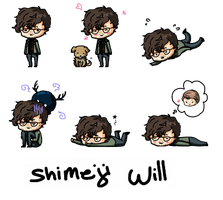 Shimeji Will Graham by Epilucial