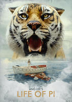 Life of Pi - A4 Movie Poster by JSWoodhams