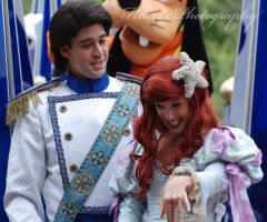 Ariel And Prince Eric by CaitrinXlXAnneliese