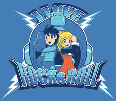 I Love Rock N Roll by combustibear
