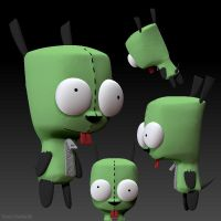 Gir WIP by KP-ShadowSquirrel