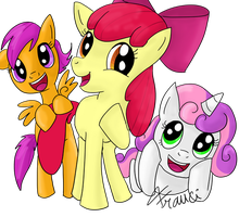 Cutie Mark Crusaders by Airy-F