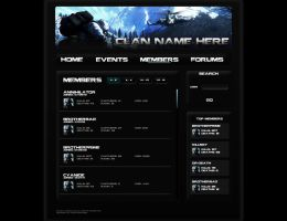 Bad Company 2 Clan Webpage Pg3 by BrotherPrime