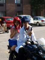 Erza and Gray -2 by Elandhyr