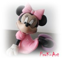 minnie mouse by prok-art
