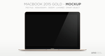 MacBook 2015 Mockup by Nemed