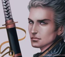 The Evil Twin - Vergil, DMC by Mazarinem