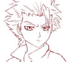 Hitsugaya Toshiro Sketch by Call-Me-Crazy101