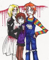 Child's Play: The Ray Family by Sally-skellington