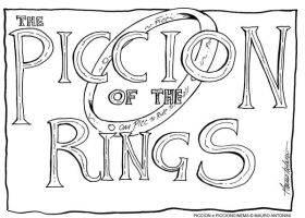 THE PICCION OF THE RINGS by PICCIONCINEMA