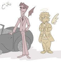 The Cool One, The Bookworm and the Bentley by Jean-Claude17