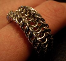 Chainmail Ring by ImrikDragon