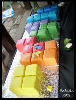 Tetris Cake. by floobity