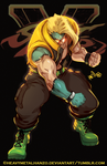 Street Fighter V Charlie by HeavyMetalHanzo