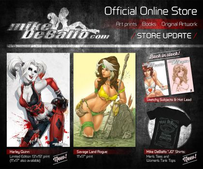 Online Store Promo by SquirrelShaver