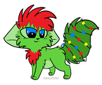 Xmas Kitty - 15 points - open by cassidymom