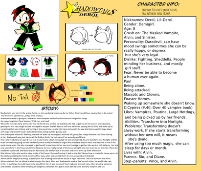 Ultimate Shadowtails Character Sheet by ShadowtailsDerol