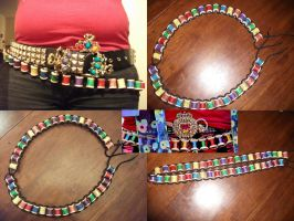Mad Hatter Bobbin Belt by Lillum
