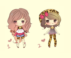 Leopard Print Adoptable (SOLD) by mochatchi