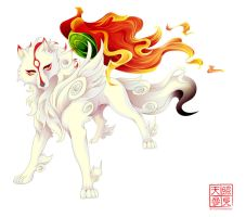 okami by whitekappa
