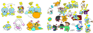 Chao Sketchdump 2 by FrankRT