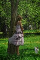 A girl and her fox by Sophia-Christina