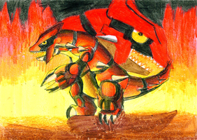 .:Groudon:. by MintyMaguire