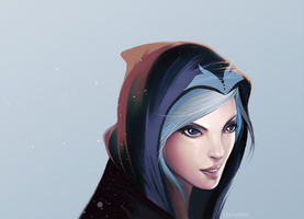 Ashe by vandymoore
