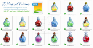 15 Magical Potion PNG by adorabless