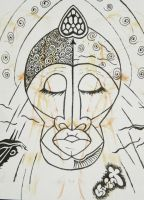 African Mask - Passion by leographics