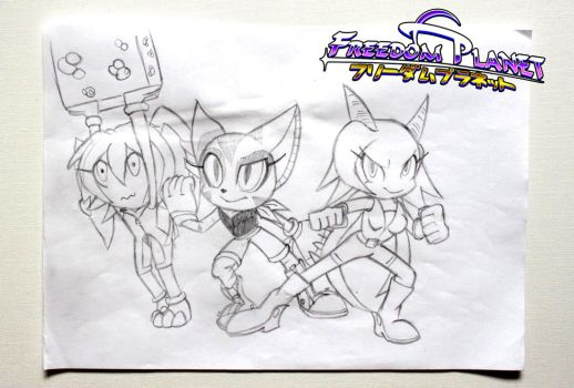 Team Lilac (Freedom Planet) by Big-Al-Son86