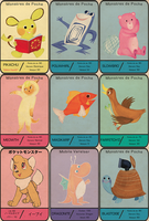 Vintage Pokemon Cards by yahualli